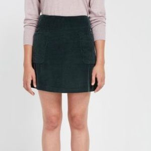 Frank and Oak Corduroy skirt